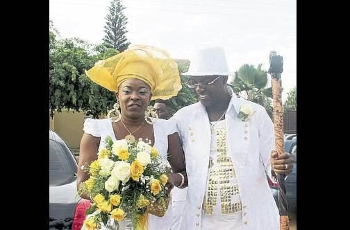 sharon marley prendergast marries ghanian partner