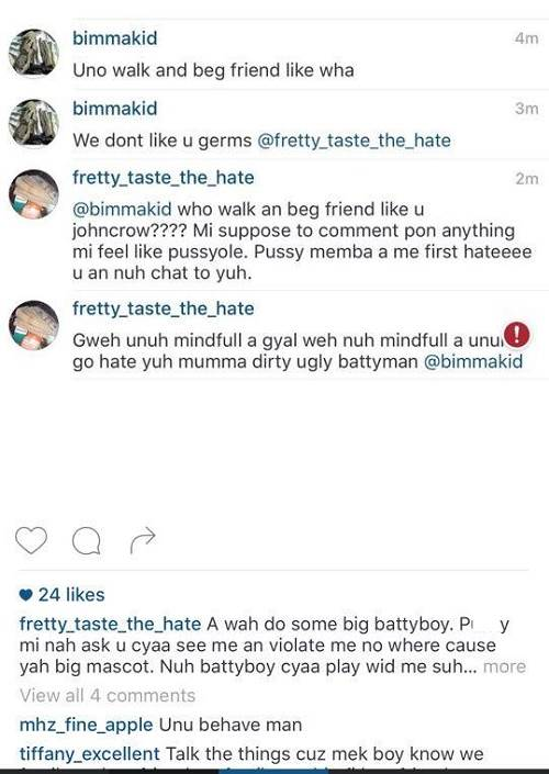 FRETTY VS BIMMA KIDD |
