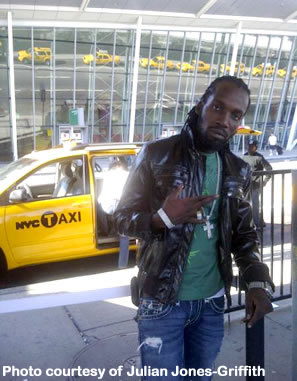 Mavado in July 2011 fresh out of customs