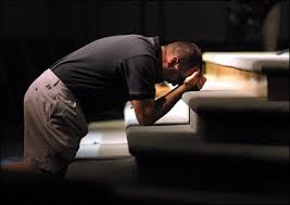 PRAYING FERVENTLY