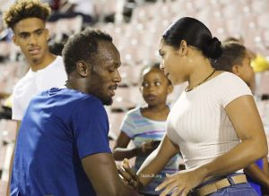 Daily mail so thirsty they didnt see that Usain has a different hair cut and this pic is so old. Shame