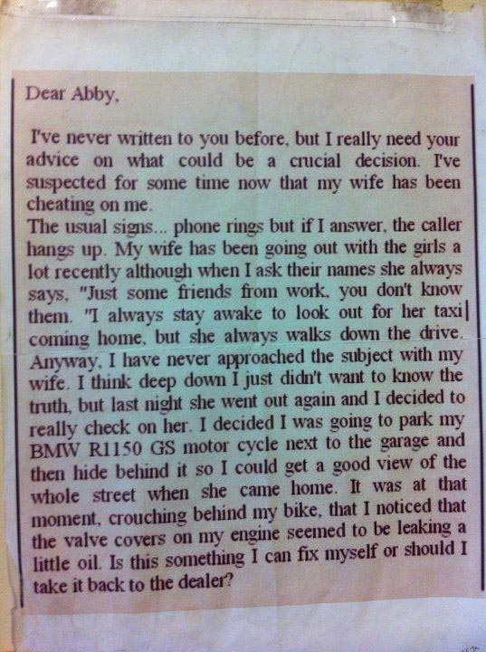 Dear Abby Men Wearing Panties Pic